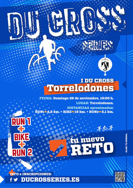 Cartel I Du Cross Torrelodones