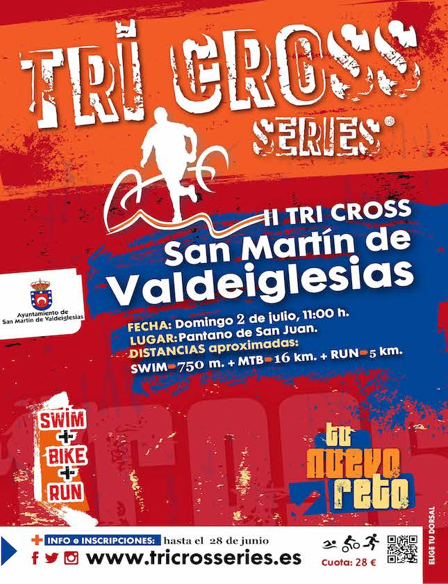 Cartel Tri Cross San Martín.1