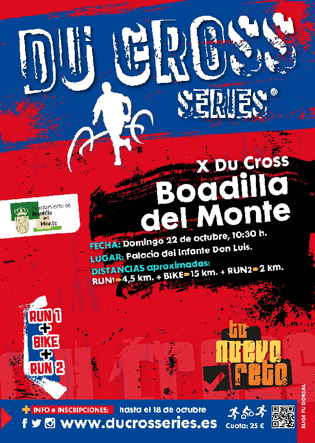 Cartel X Du Cross Boadilla