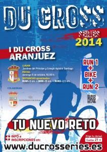 Cartel I Du Cross Aranjuez