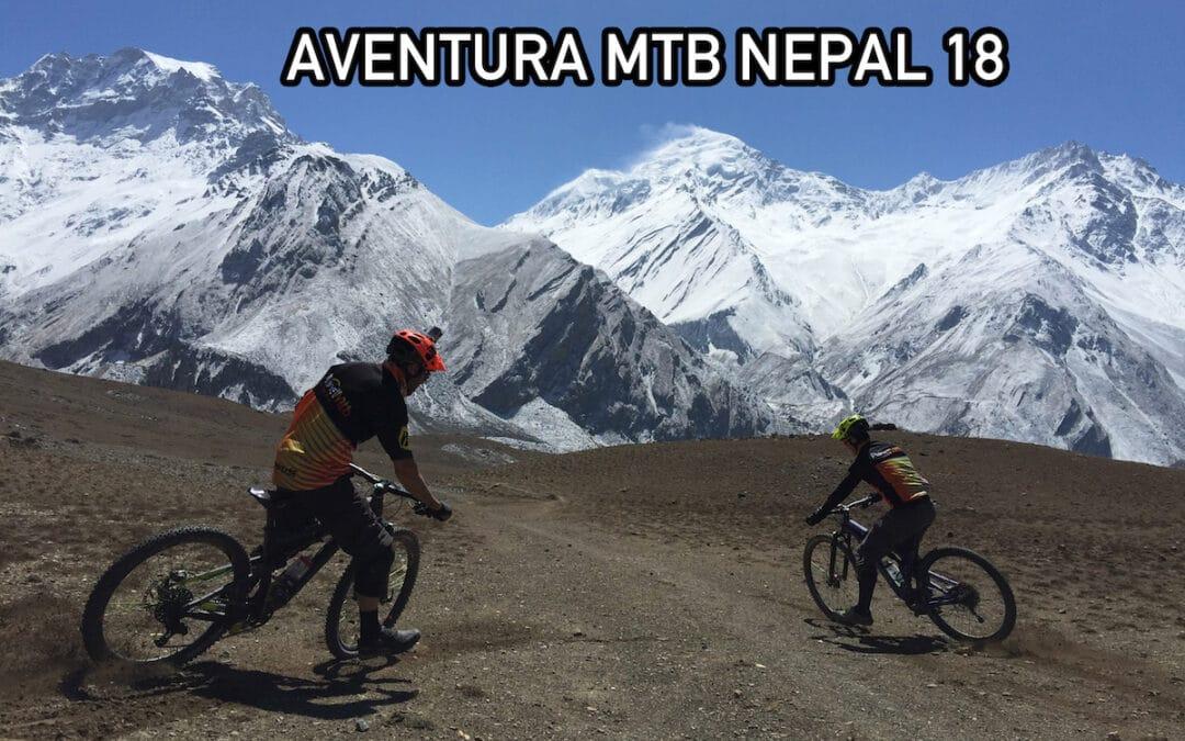 Aventura Planet Mtb en Nepal sobre ruedas