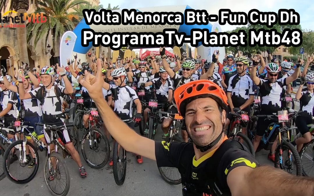 Volta a Menorca Btt, tres en uno: acción, diversión y relajación