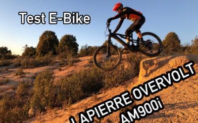Probamos la E-Bike Lapierre Overvolt AM900i