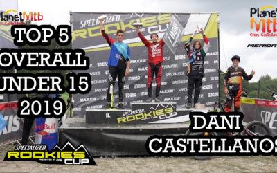 Top 5 overall para Dani Castellanos en la Rookies Cup DH