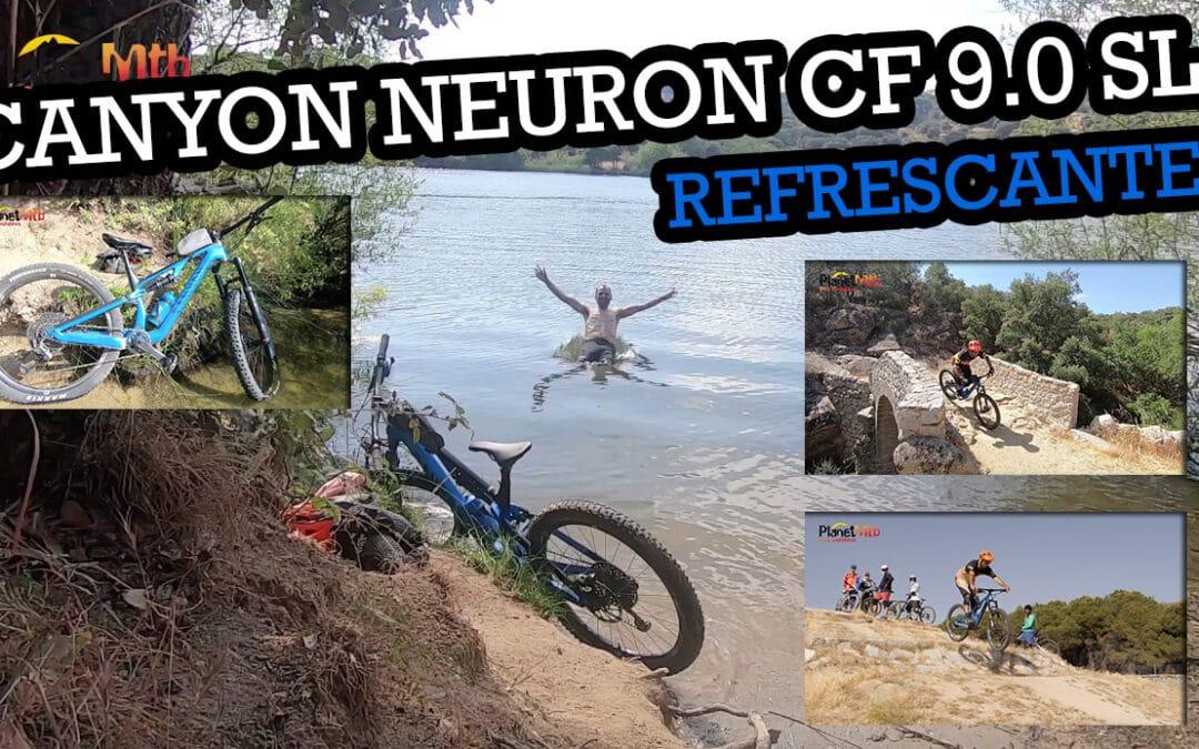 CANYON NEURON CF 9.0 SL, ENDIABLADAMENTE RÁPIDA