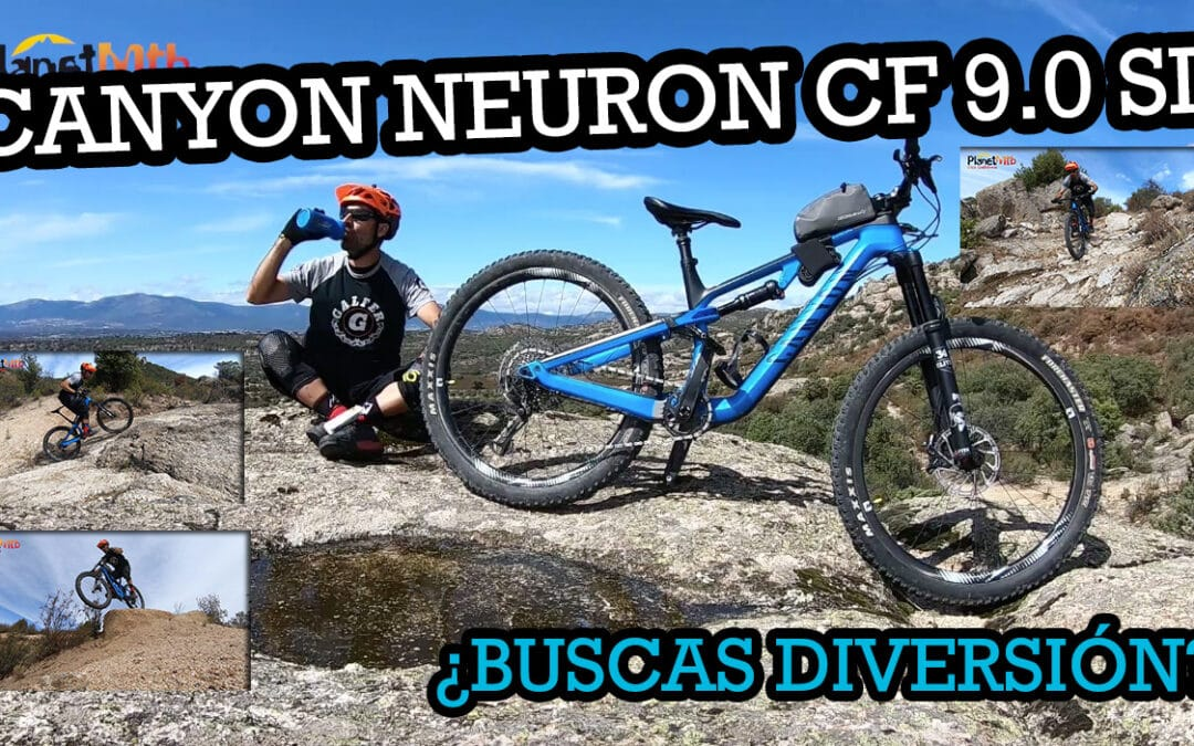 Canyon Neuron CF 9.0 SL, ¿buscas bici divertida?