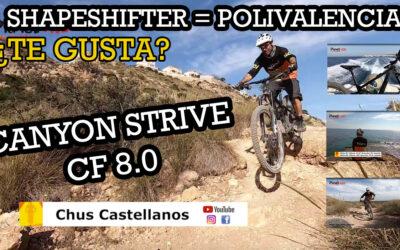 Canyon Strive CF 8.0, ¿Te gusta el nuevo Shapeshifter?