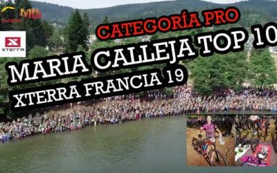 XTERRA FRANCE 2019, TOP10 PARA MARIA CALLEJA EN SU DEBUT EN PRO