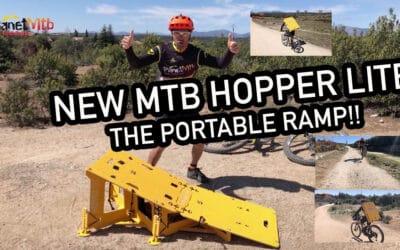 NEW HOPPER LITE, THE PORTABLE RAMP MTB
