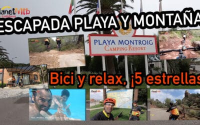 PLAYA MONTROIG, CAMPING DE LUJO PARA DISFRUTAR DEL MTB