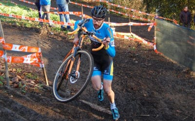 El Bicicletas Félix Pérez cerró su temporada de ciclocross en los Campeonatos de España