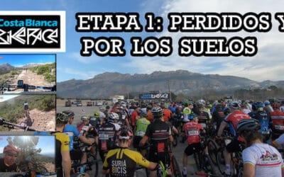 COSTA BLANCA BIKE RACE 2020: PERDIDOS Y POR LOS SUELOS