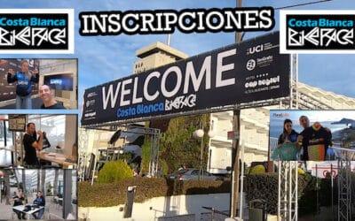 COSTA BLANCA BIKE RACE 2020: RECOGEMOS LOS DORSALES