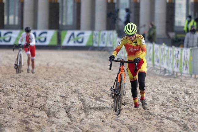 Sofía Rodríguez y Felipe Orts defendieron a la Selección Española en los Mundiales de ciclocross