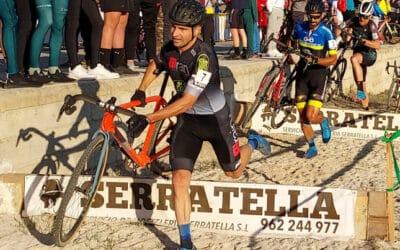 EL VI Trofeu Ciclocross de L´Énova vio en lo más alto a Sara Bonillo y Adrián Aranda